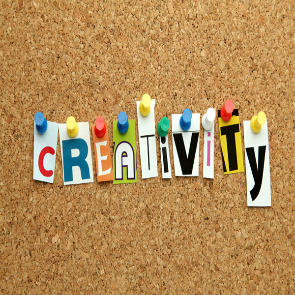 Creativity pinned on noticeboard